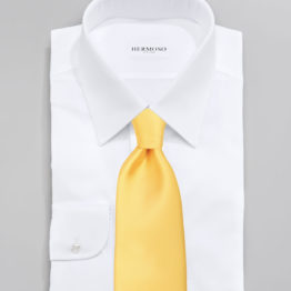 JOHN SPARKS Yellow – Tie + Pocket Square + Tie Bar