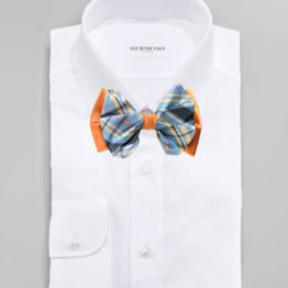 Big Bow Tie & Pocket Square Set - 3957