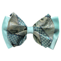 Big Bow Tie & Pocket Square Set - 3958