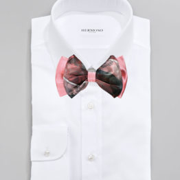 Big Bow Tie & Pocket Square Set - 3962