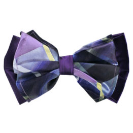 Big Bow Tie & Pocket Square Set - 3967