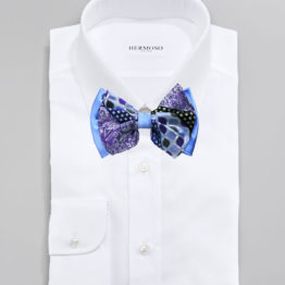 Big Bow Tie & Pocket Square Set - 3971