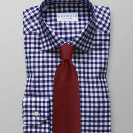 JOHN SPARKS Burgundy – Tie + Pocket Square + Tie Bar