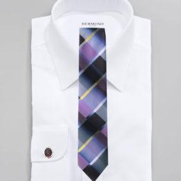 JOHN SPARKS PURPLE – Tie + POCKET SQUARED2 + Cufflinks 3951