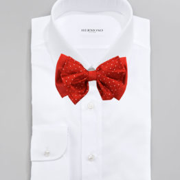 Hermoso New York Big Bow Tie Red- 4165