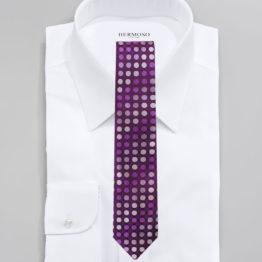 JOHN SPARKS Lavender – Tie + POCKET SQUARED2 + Lapel Button 4310