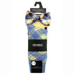 John Sparks Socks & BowTie & Pocket Square - Yellow 7440