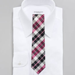JOHN SPARKS Pink – Tie + POCKET SQUARED2 + Lapel Button 4077