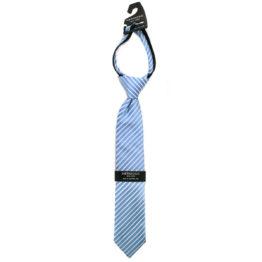 Hermoso NewYork Boy's Tie 4319B- Blue