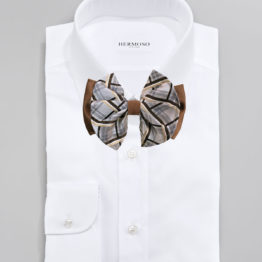 Hermoso New York Big Bow Tie - 3037