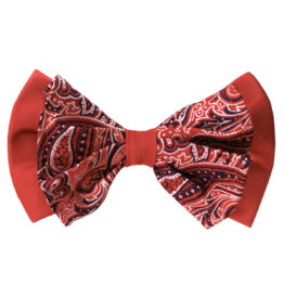 Hermoso New York Big Bow Tie Red- 4770