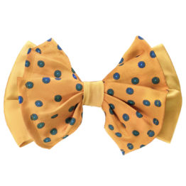 Hermoso New York Big Bow Tie Yellow- 4761