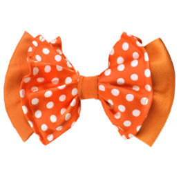 Hermoso New York Big Bow Tie Orange- 4765