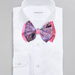 Hermoso New York Big Bow Tie Pink- 4766
