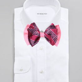 Hermoso New York Big Bow Tie Pink- 4767