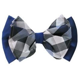 Hermoso New York Big Bow Tie Navy- 4769
