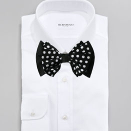 Hermoso New York Big Bow Tie Black- 4773