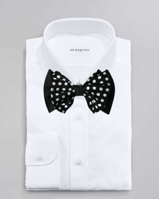Hermoso New York Big Bow Tie Black- 4773
