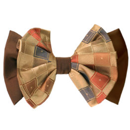 Hermoso New York Big Bow Tie Brown- 4779