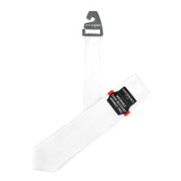 JOHN SPARKS Performance Tie -White 3717